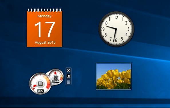 كيف يمكنك استعادة ادوات سطح المكتب Gadgets على ويندوز 10