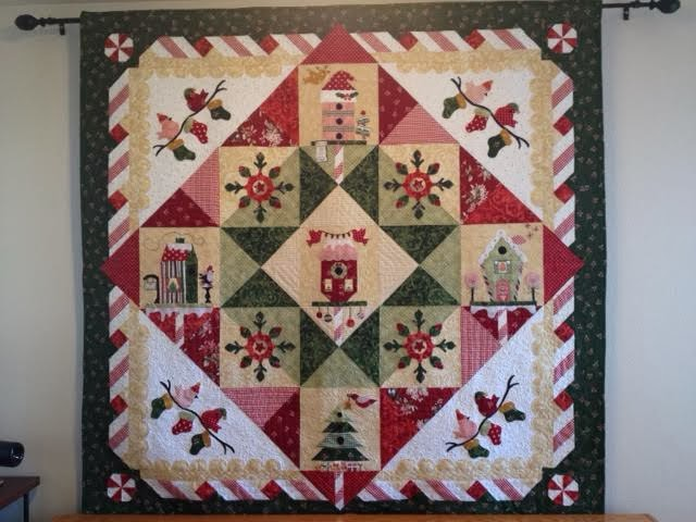 Peppermint Place Quilt