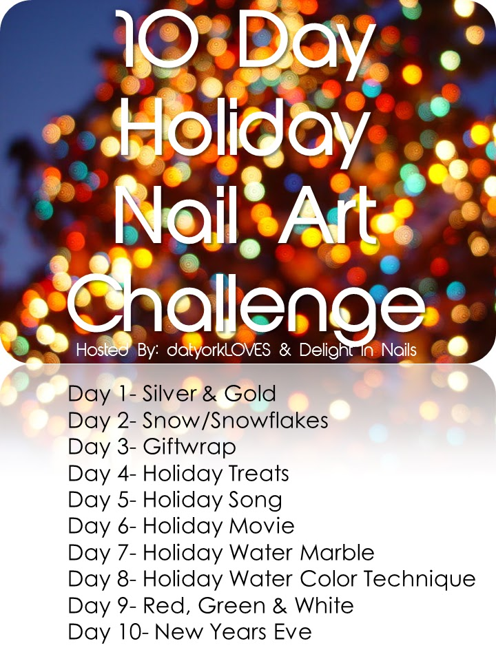 Day Holiday Nail Art Challenge
