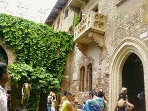 Rumah Juliet, Italia