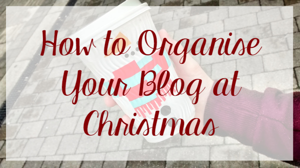 Blog Organisation ad Christmas