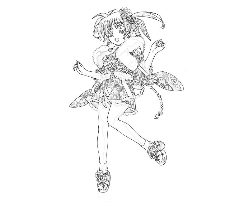 nanoha-takamichi-costume-coloring-pages