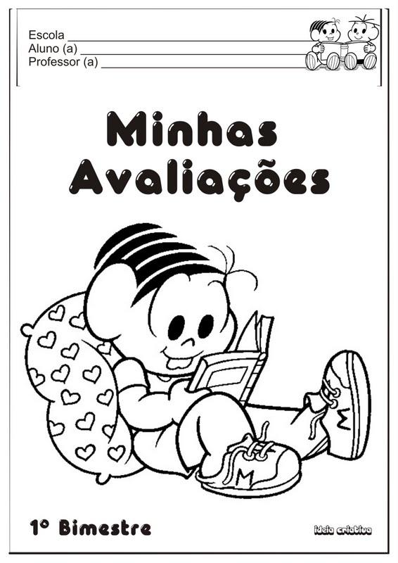 CALENDÁRIO TURMA DA MONICA 2014 - Cantinho de Atividades