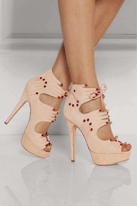 Cut Out Heels Designs #1..