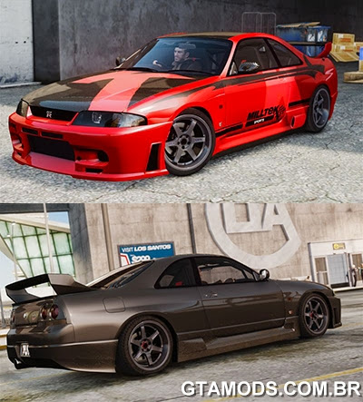 Nissan Skyline BCNR33 JUN VER
