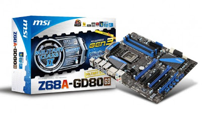 Motherboard MSI Z68A-GD80 (G3)