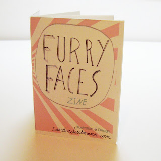 furry faces zine sandra dieckmann etsy illustration animals