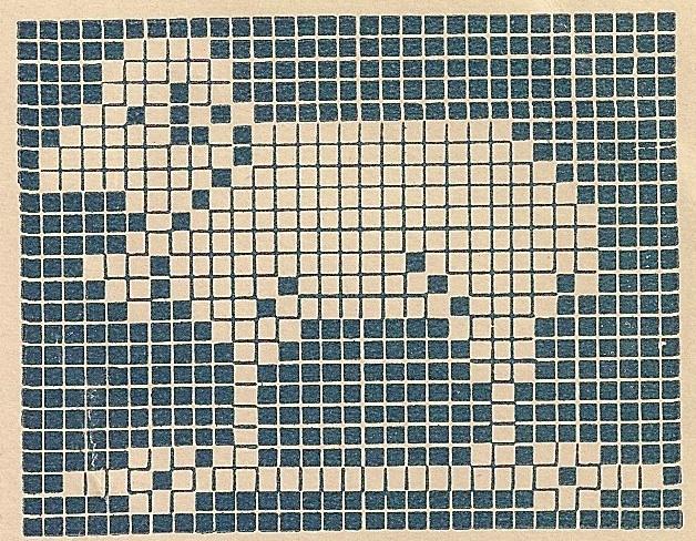 Sentimental Baby  Children U0026 39 S Motifs For Cross Stitch Or Filet Crochet