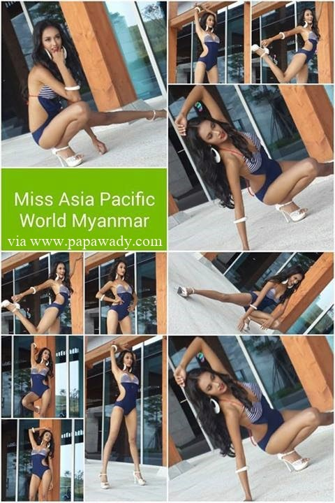 May Myat Noe Beautiful Photos for Miss Asia Pacific World 2014