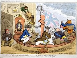 Waarom bandnaam Afghan Whigs - A Block?the Wigs - Gillray