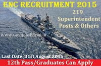 ENC RECRUITMENT 2015