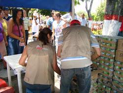 Distribucion de Alimentos Decomisados en Operativo Conjunto con el Indepebis Regional