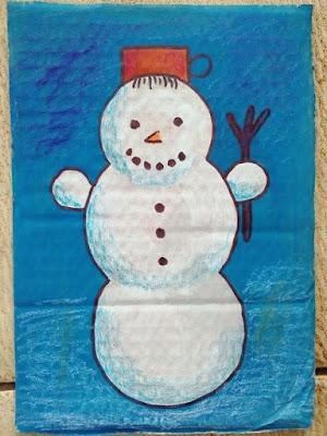 picture snowman