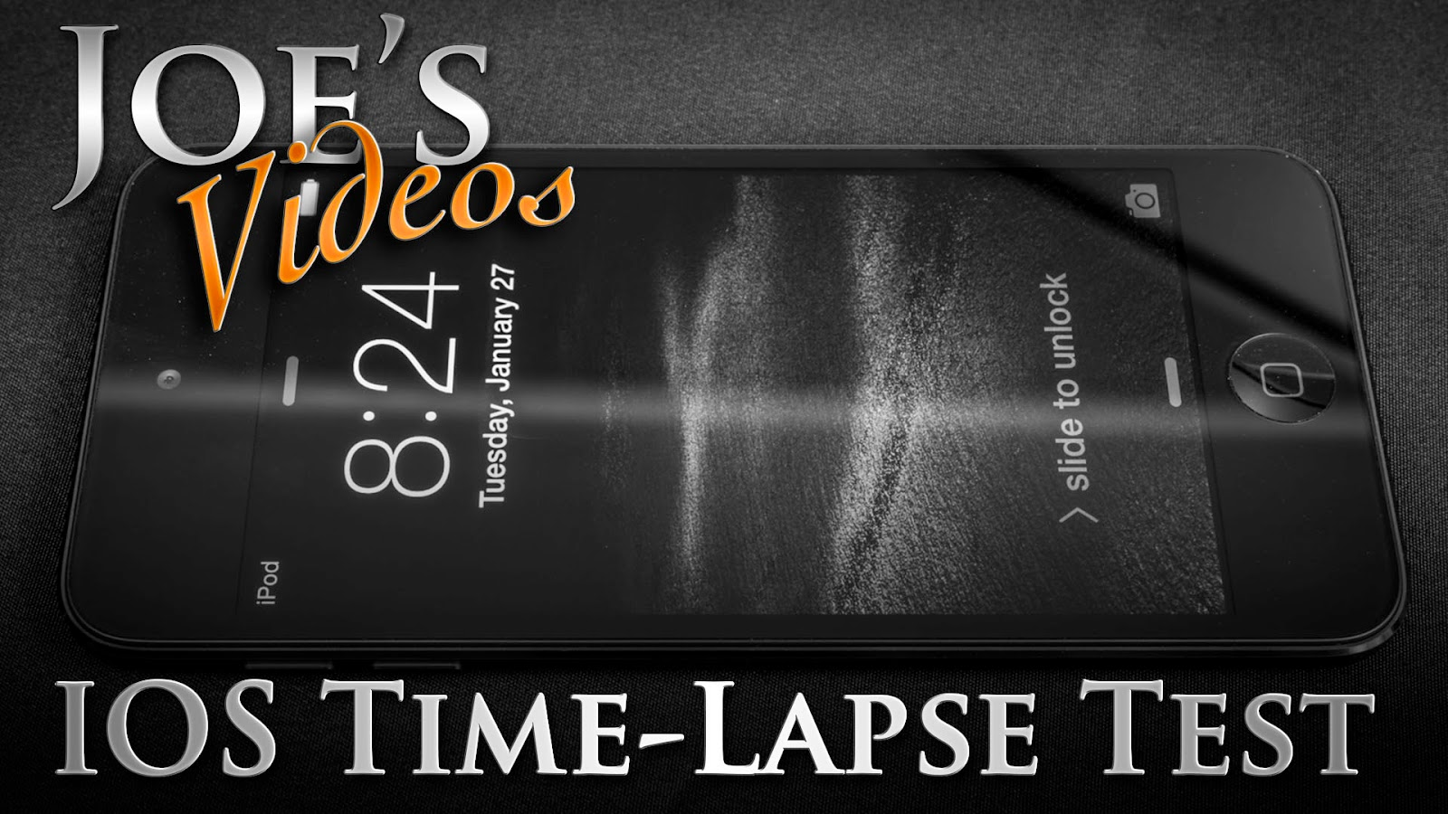 Playing Around With Testing The IOS Time-Lapse Function (With Test Footage) | Joe's Videos