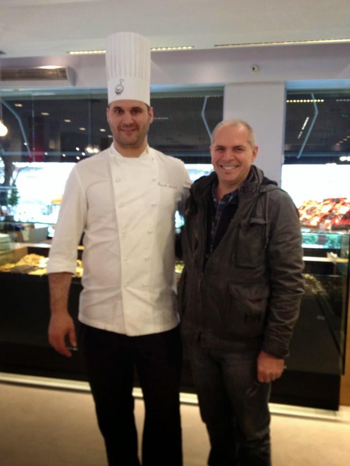 Con il campione del mondo di cioccolateria Davide Comaschi
