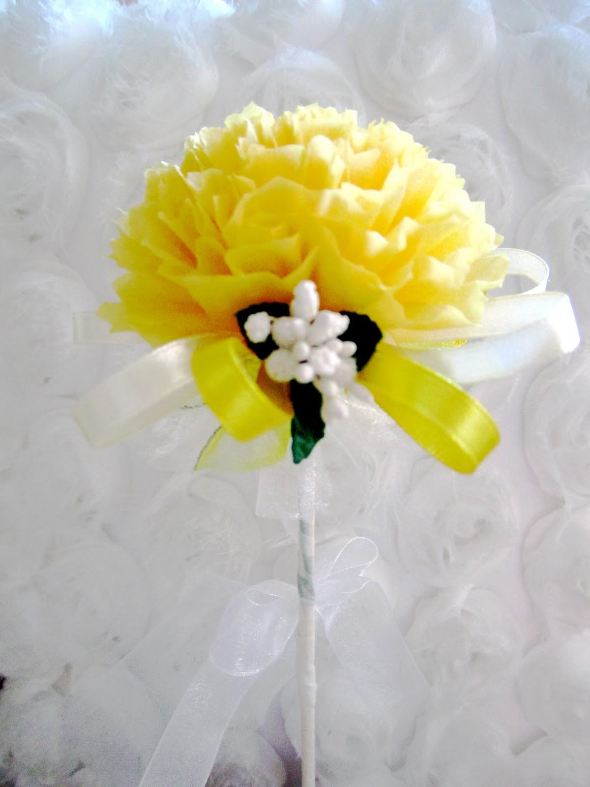 Oh Pretty Please Tissue Flower Bunga Telur