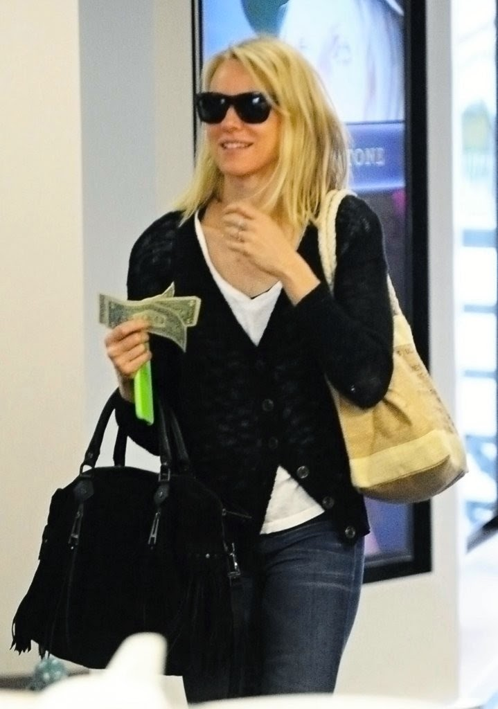 Actress @ Naomi Watts - At the gym in Los Angeles