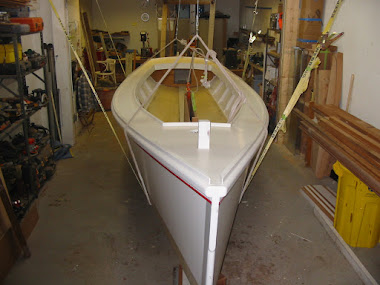 Before - 1918 Deadrise Sailing Skiff 20&#39;
