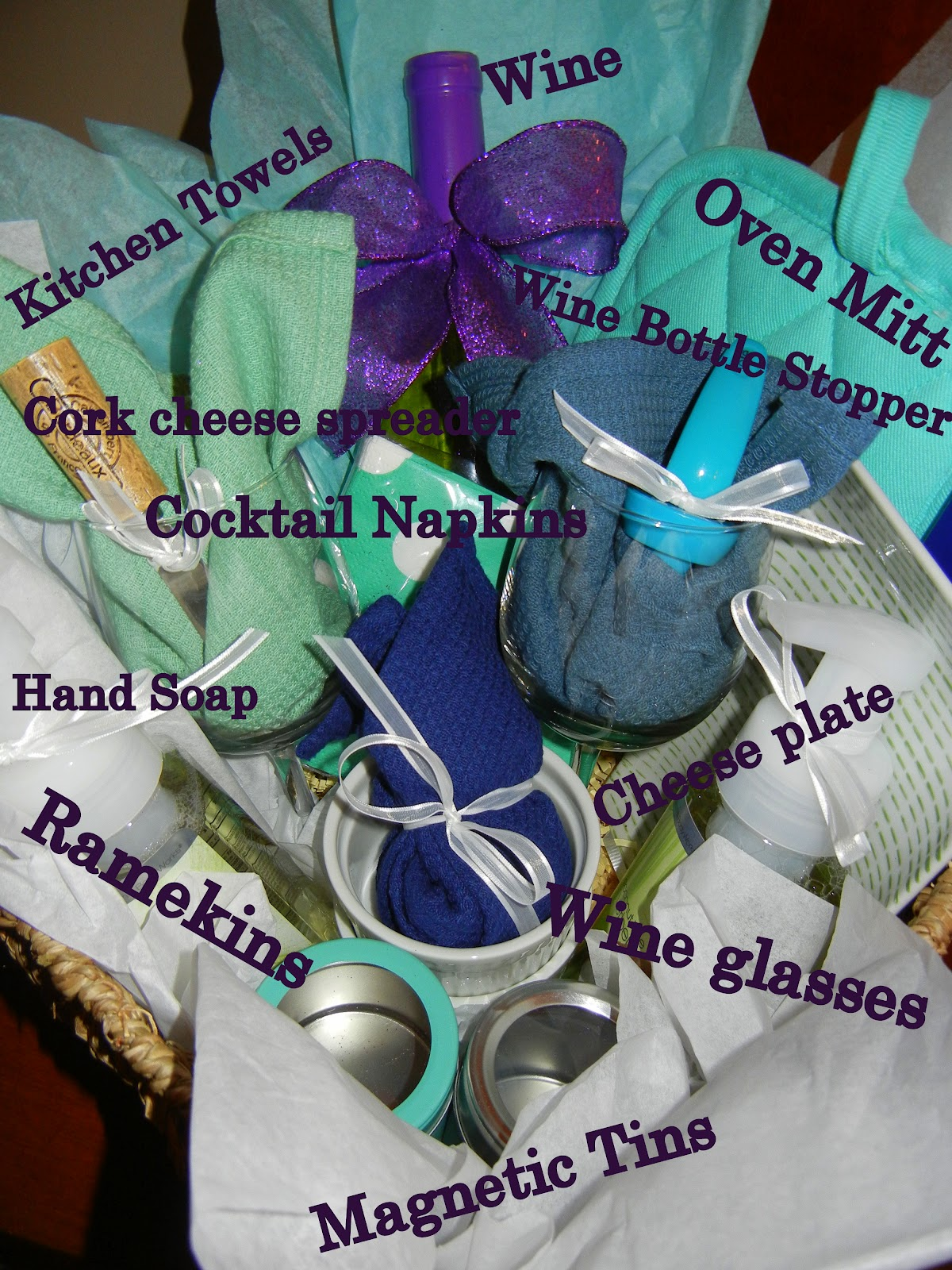 Libby Ribbons: Housewarming Gift Basket