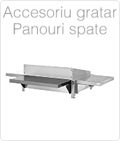 Accesoriu gratar- Panou Spate