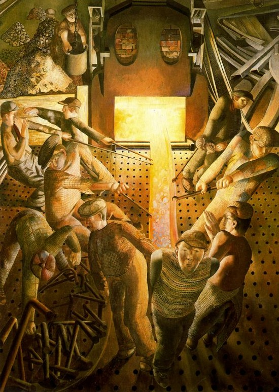 stanley spencer Stanley spencer lived in a small town cookham is an english country village 30 miles west of london on the river thames spencer was born in cookham in 1891, and except for two world wars, he .