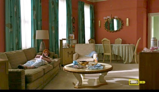 Get The Look Joan Holloway S Apartment On Screen Decor
