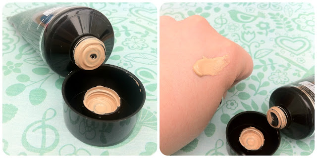 The product inside the MUA BB cream
