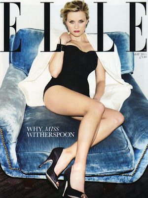 Reese Witherspoon on Elle cover