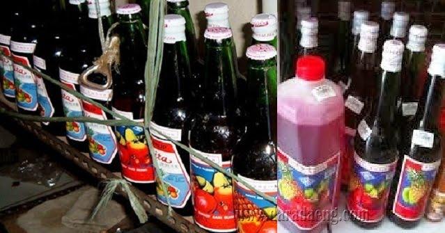 Sirup DHT Pisang Ambon Pasangan Kuliner Khas Makassar