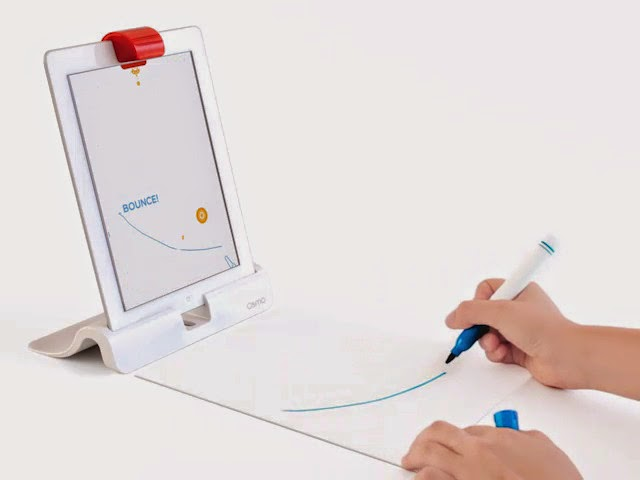 Osmo: A unique gaming accessory for the iPad that promotes social intelligence and creative thinking in kids