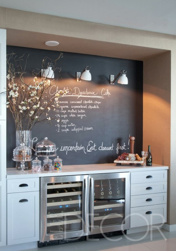 spesso Beautiful Parete Lavagna Cucina Gallery - Embercreative.us  IO69