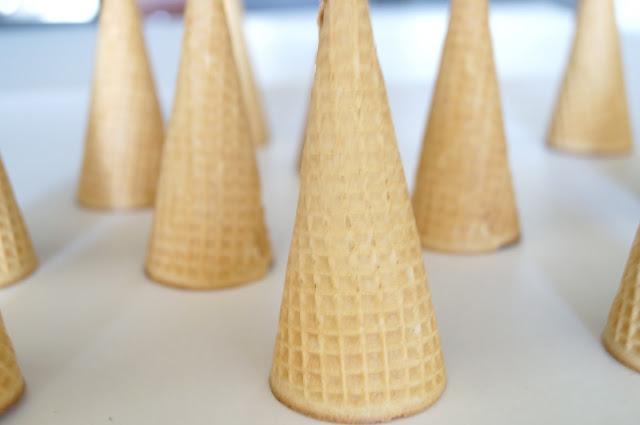 diy homemade ice cream cones