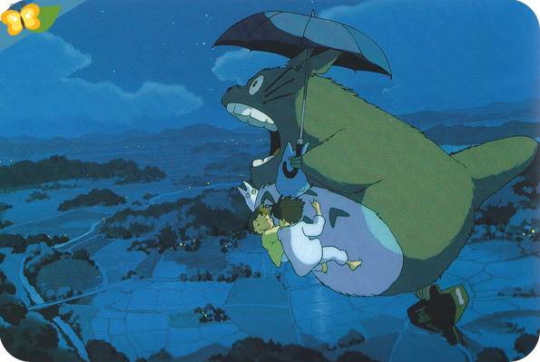 Mon voisin Totoro, Un film de Hayao Miyazaki
