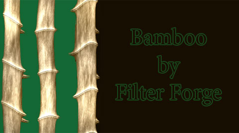 Bamboo Filter created by Filter Forge