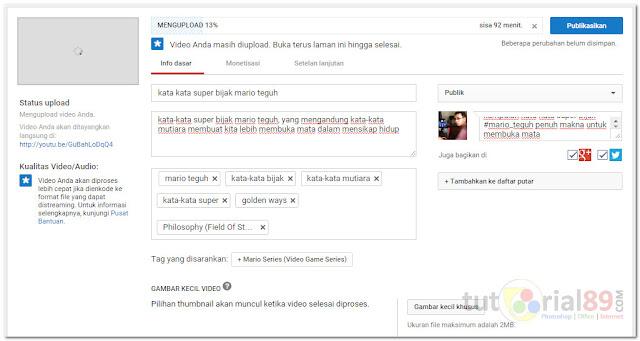 Cara membuat video youtube dari slide powerPoint