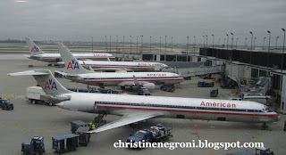 American+airliners+on+the+ground+Chicago