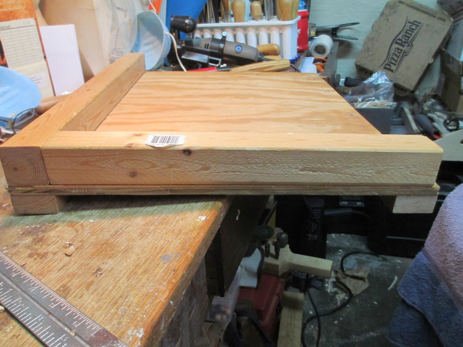 Knotty wood spirits bench hook