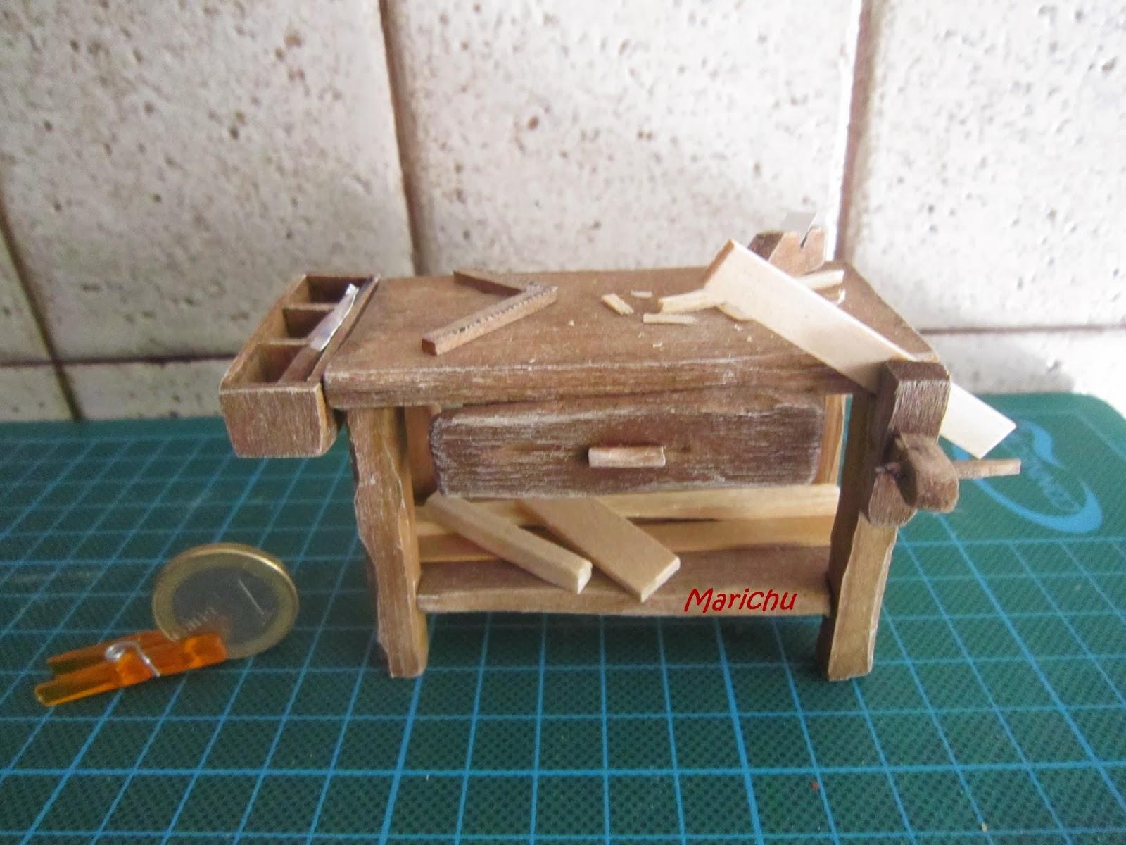 Las minis de marichu como hacer una mesa de carpintero for Mesa de carpintero