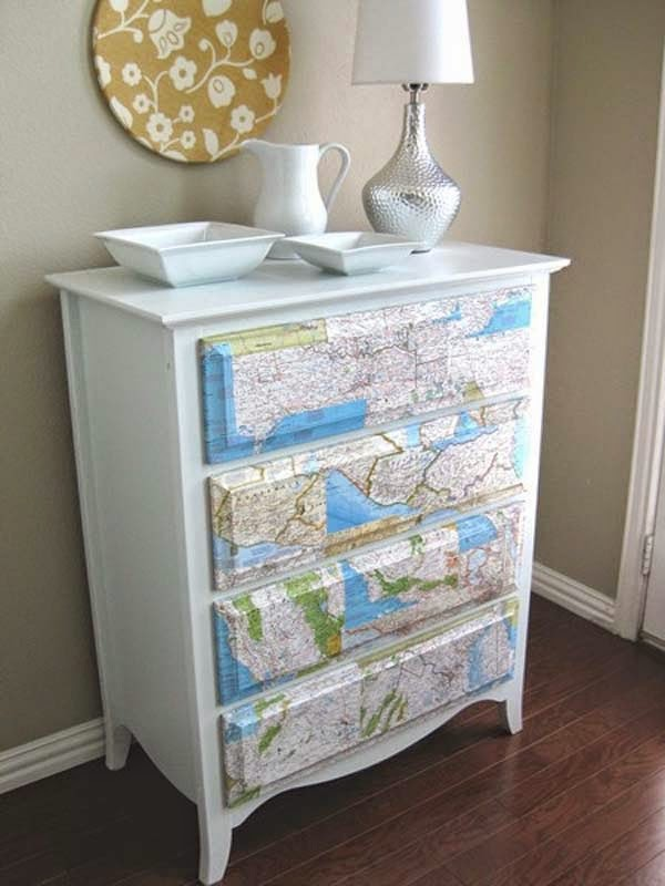 25 cool diy furniture makeovers with wallpaper do it yourself ideas and projects - Do it yourself furniture ideas ...