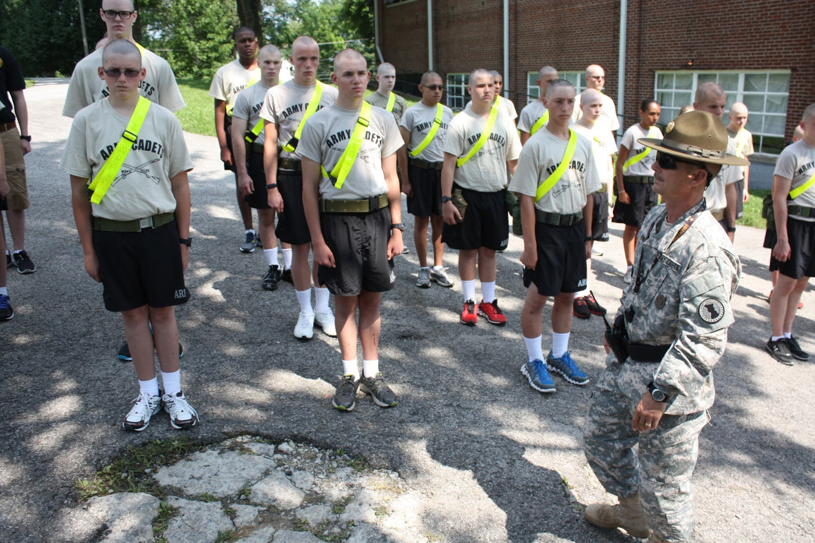 Army drill and ceremony powerpoint