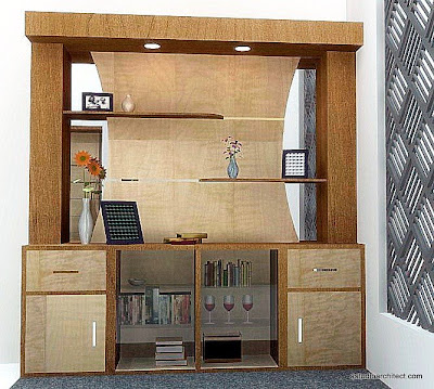 berikut ini desain desain furniture yang lain dalam rumah tersebut