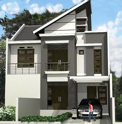 desain model atap rumah minimalis bergaya datar desain