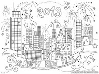 Pesta Kembang Api Menyambut Tahun Baru 2013
