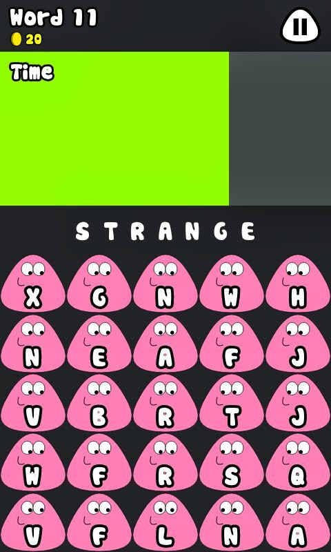 Words. A new game for Pou