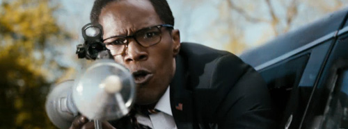 Jamie Foxx Rocket Launcher White House DOwn