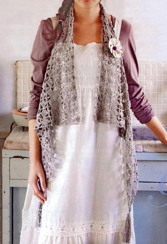 Stylish Easy Crochet: Crochet Vest Free Pattern For Women ...