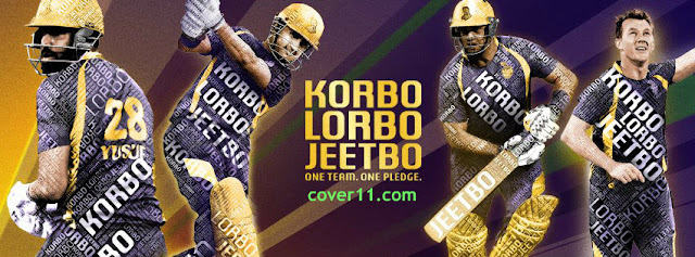Kolkata Knight Riders Facebook Cover Photos
