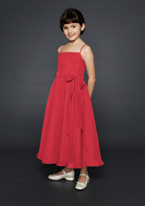 red junior dresses