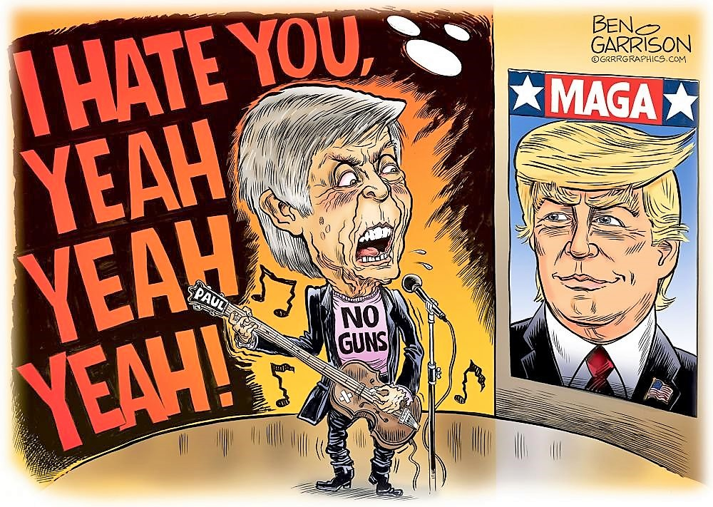 He Hates Trump - Yeah, Yeah, Yeah!