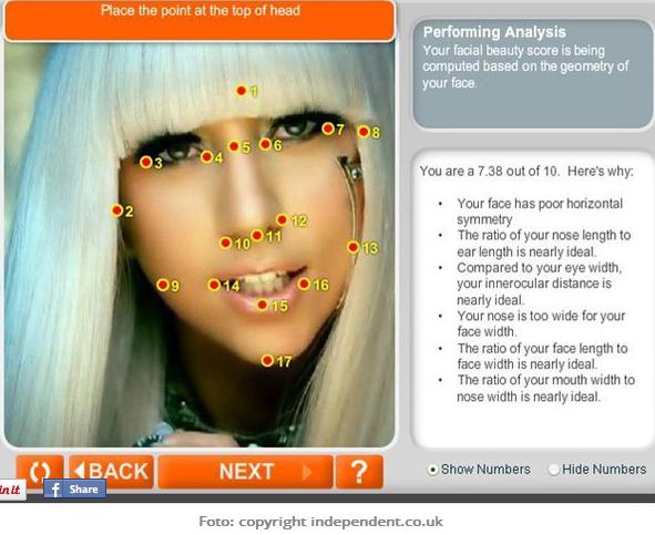 analyze face